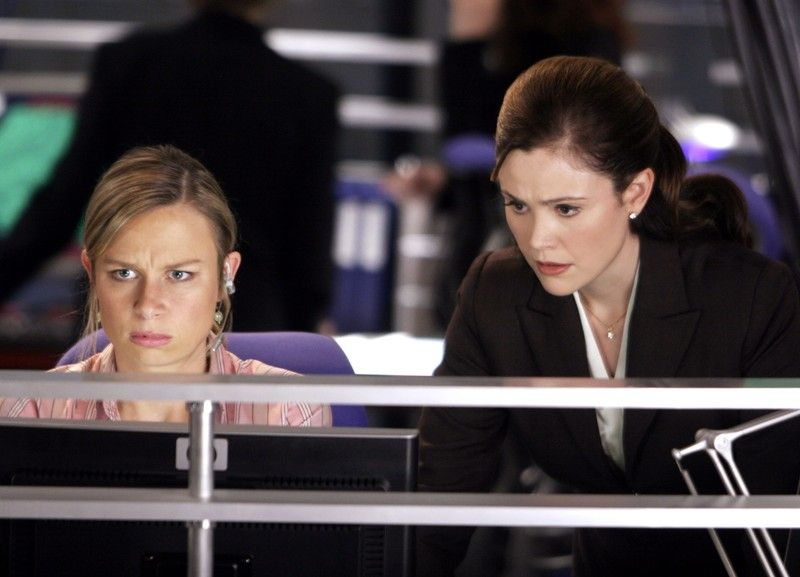 Chloe O'Brian and Michelle Dessler 24 Season 4 Episode 14