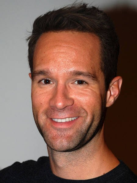 Chris Diamantopoulos at Gideon's War book signing event