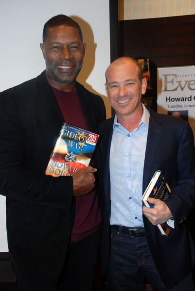 """Howard Gordon """"Gideon's War"""" Book Signing at Barnes & Noble in Los Angeles on January 11, 2011"""