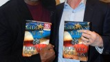 Dennis Haysbert and Howard Gordon at Gideon's War book signing event