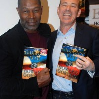 Dennis Haysbert and Howard Gordon at Gideon's War book signing event