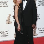 Dennis Haysbert and Kim Raver at Monte Carlo Television Festival Day 6