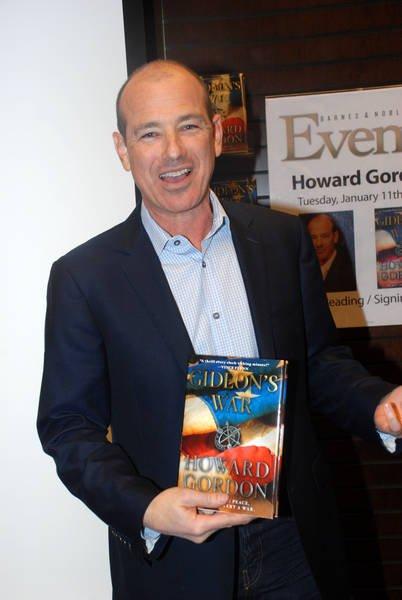 Howard Gordon at Gideon's War book signing event in LA