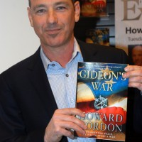"Howard Gordon ""Gideon's War"" Book Signing at Barnes & Noble in Los Angeles on January 11, 2011"
