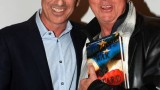 Howard Gordon and Gregory Itzin at Gideon's War book signing event in LA