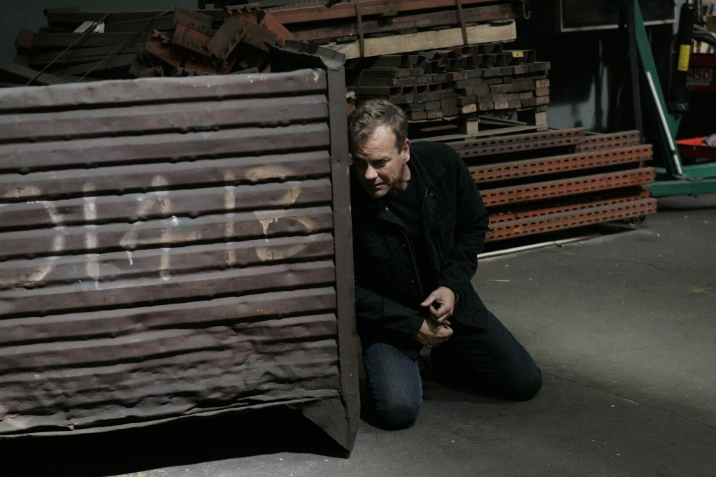 Jack Bauer escaping 24 Season 7 Episode 24