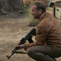 Jack Bauer with an AK-47 in 24 Redemption