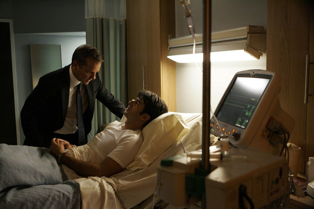 Jack Bauer interrogates Ryan Burnett 24 Season 7 Episode 13