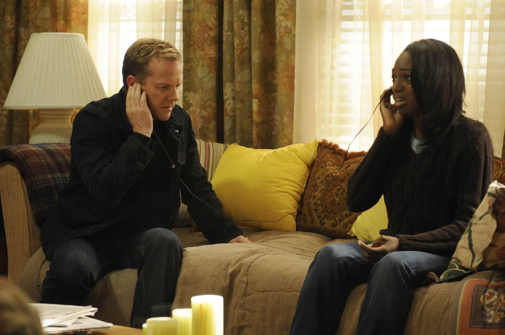 Jack Bauer and Marika Donoso 24 Season 7 Episode 9
