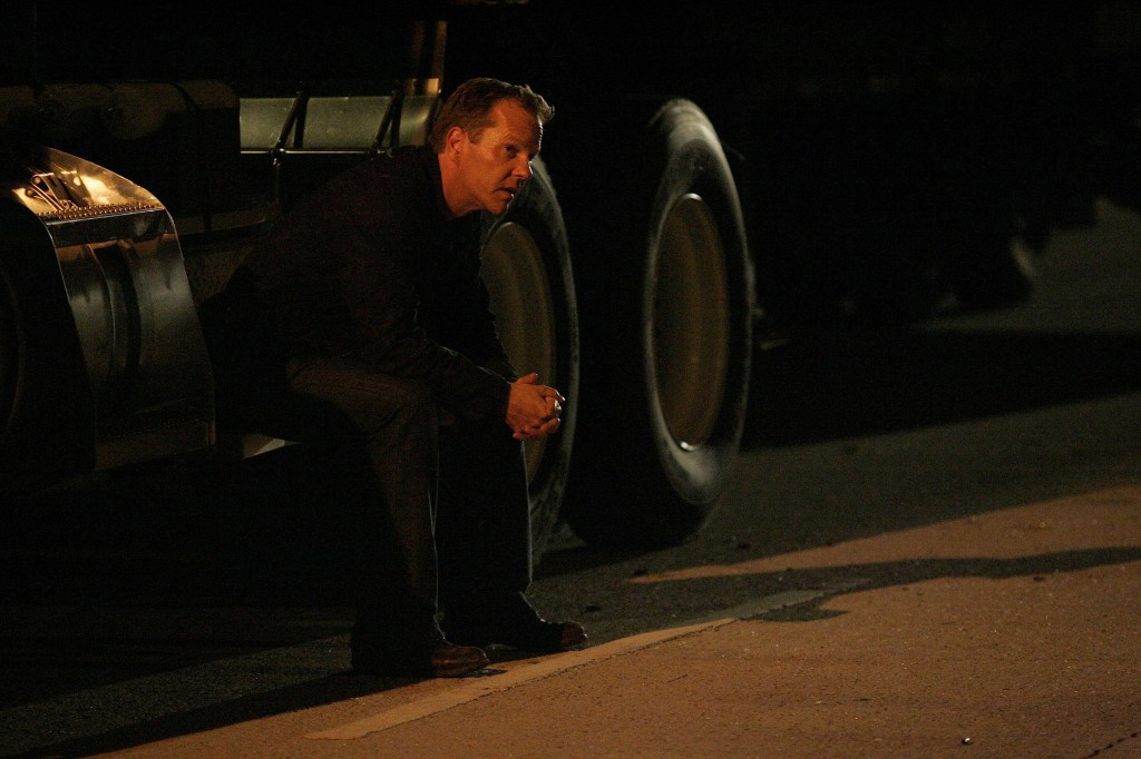 Jack Bauer waiting in 24 Season 7 Episode 15
