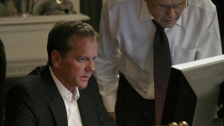 Jack Bauer and Senator Blaine Mayer 24 Season 7 Episode 14