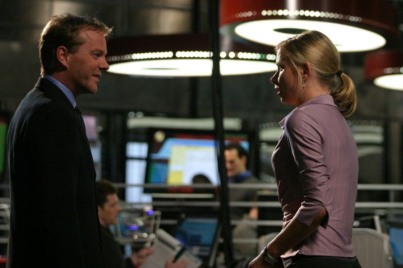 Jack Bauer and Chloe O'Brian 24 Season 4 Episode 2