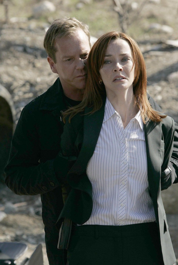 Jack Bauer and Renee Walker 24 Season 7 Episode 5