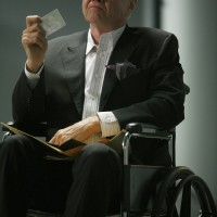 Jon Voight as Jonas Hodges in wheelchair 24 Season 7 Episode 21