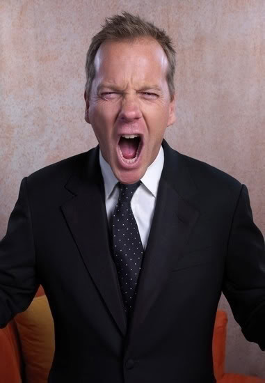 Kiefer Sutherland Screaming
