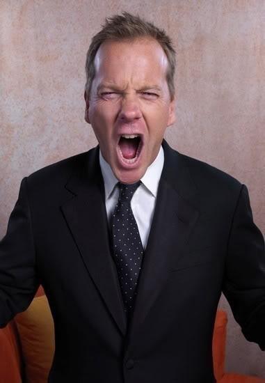 Kiefer Sutherland Screaming
