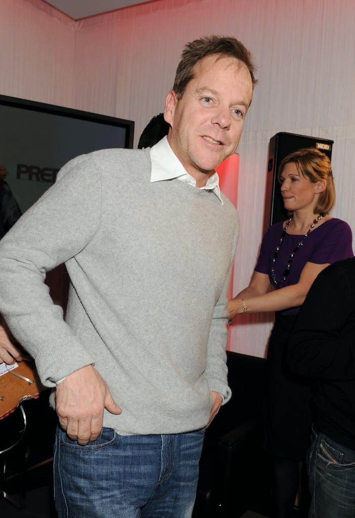 Kiefer Sutherland at 24 Press Conference in Munich, Germany