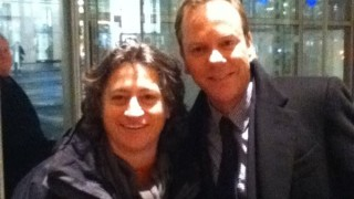 Kiefer Sutherland and fan Lisa Thomas