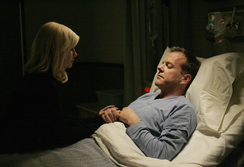 Kim Bauer saves Jack Bauer 24 Season 7 episode 24