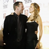 Kiefer Sutherland and Kim Raver at 24 Season 5 DVD Launch Party