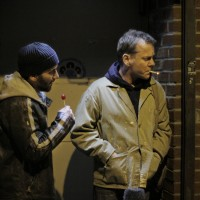 Max Casella and Kiefer Sutherland in The Confession promo still