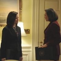 Olivia and President Allison Taylor 24 Season 7 Episode 19