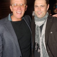 Peter Weller and Carlos Bernard at Gideon's War book signing event