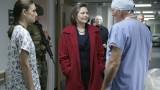 President Allison Taylor visits hospital 24 Season 7 Episode 9