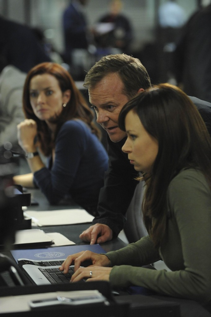 Renee Jack Chloe computers FBI 24 Season 7 Episode 21
