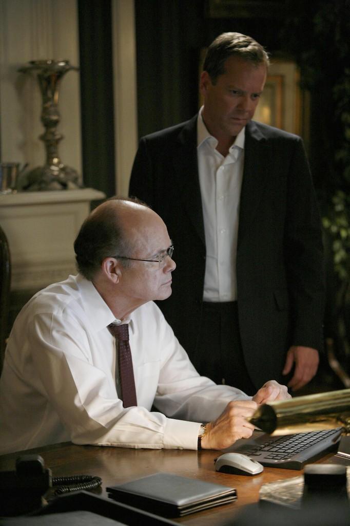 Senator Blaine Mayer and Jack Bauer 24 Season 7 Episode 14