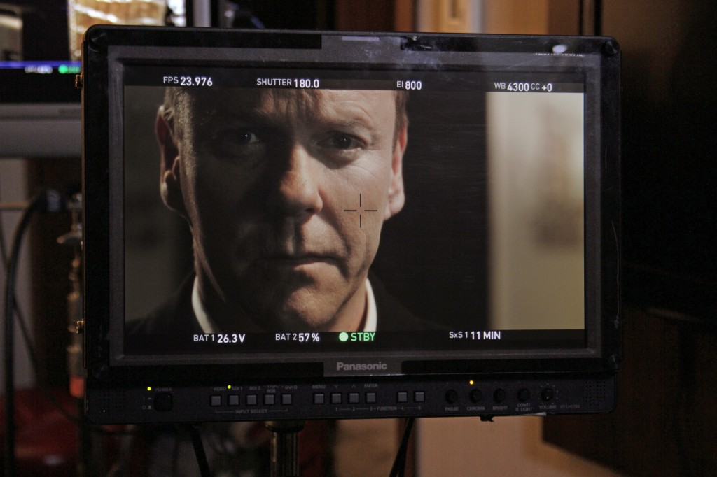 Kiefer Sutherland behind the scenes of The Confession