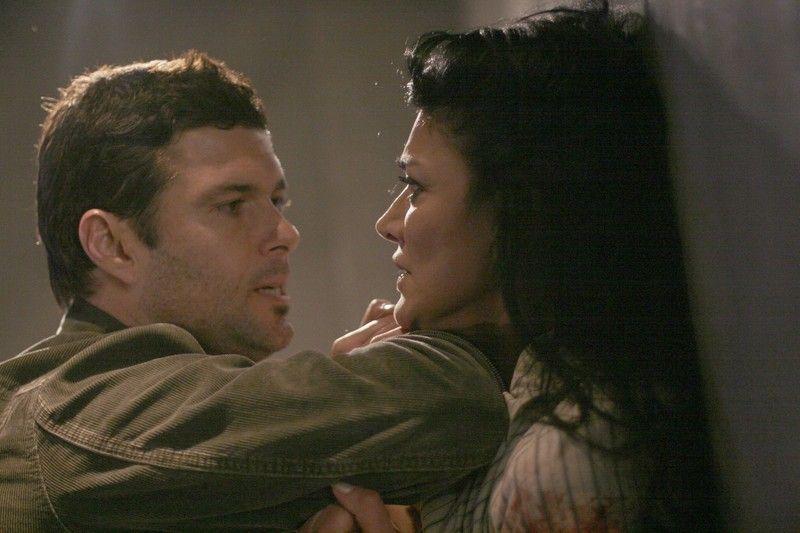 Tony Almeida interrogates Dina Araz 24 Season 4 Episode 11
