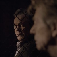 Kiefer Sutherland and John Hurt in The Confession screencap