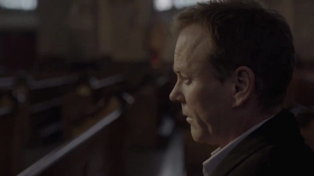 Kiefer Sutherland in The Confession