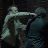 Kiefer Sutherland in The Confession killing guy