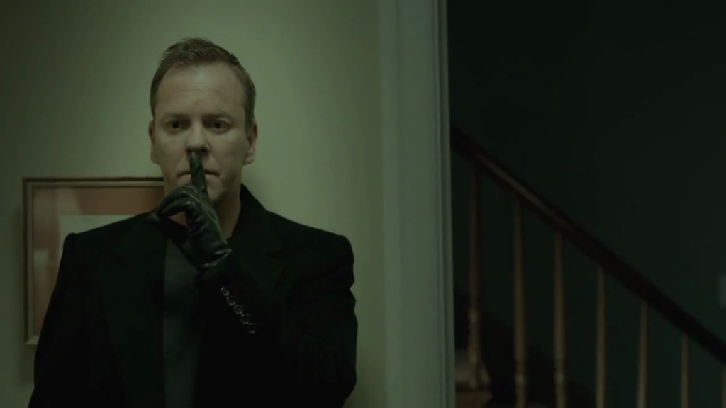 Kiefer Sutherland in The Confession stealth