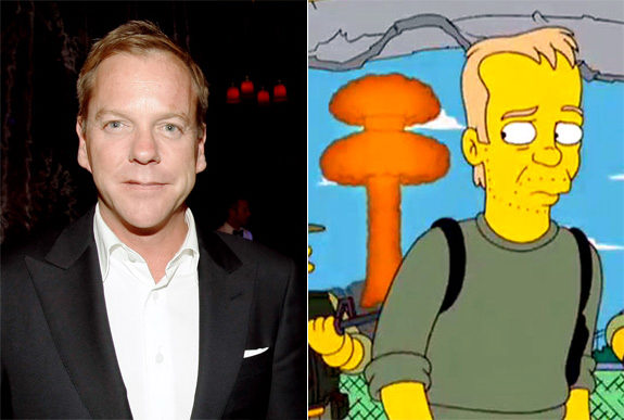Kiefer Sutherland as Jack Bauer on The Simpsons