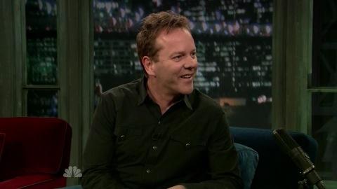 Kiefer Sutherland Jimmy Fallon Interview Mar 21 2011