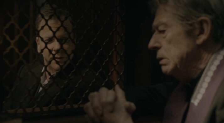 Kiefer Sutherland John Hurt The Confession Ep 8