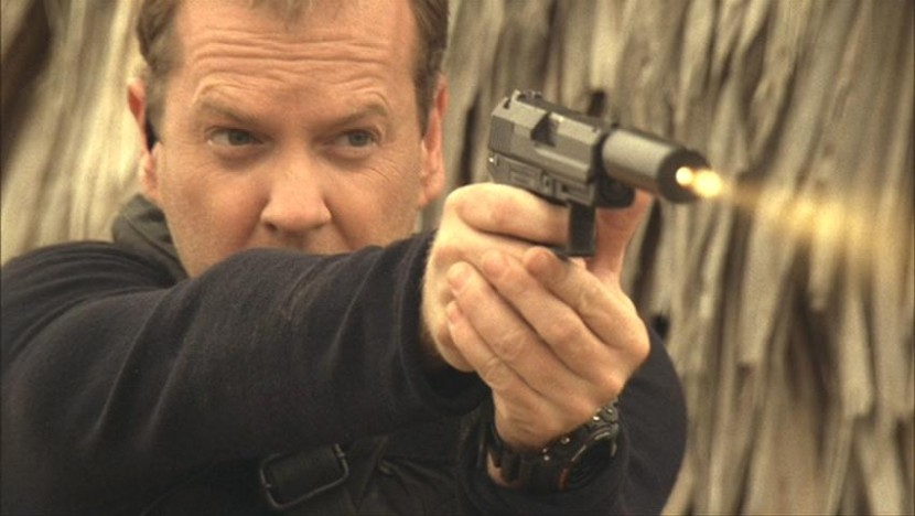 Jack Bauer raids compound