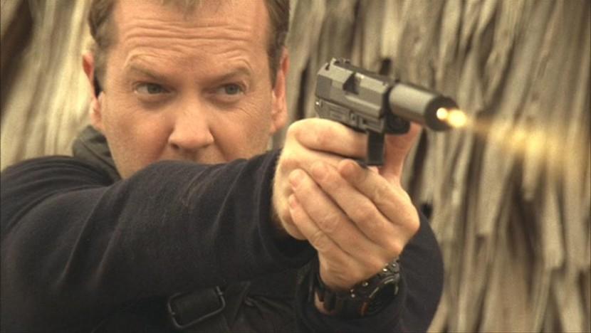Jack Bauer raids compound