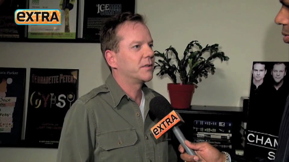 Kiefer Sutherland 24 movie interview