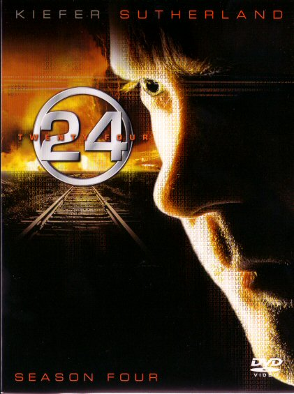 24 Season 4 DVD cover