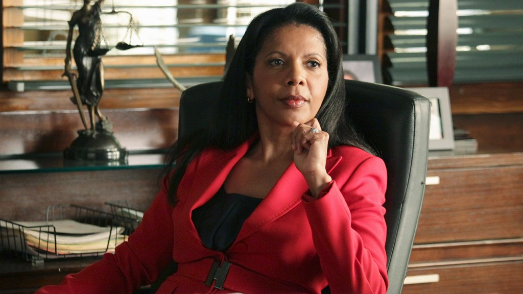 "Penny Johnson Jerald stars as Captain Victoria ""Iron"" Gates in ABC's Castle"