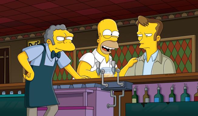 Kiefer Sutherland Simpsons Season 23 premiere