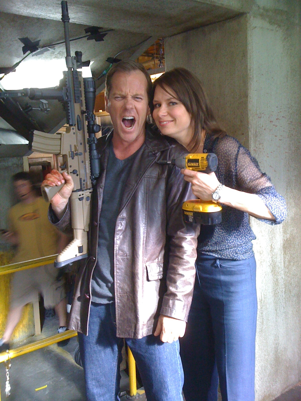 Mary Lynn Rajskub kiefer sutherland interview