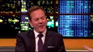Kiefer Sutherland talks 24 movie on Jonathan Ross Show
