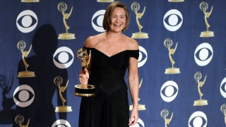 Cherry Jones wins an Emmy Award for her role on 24