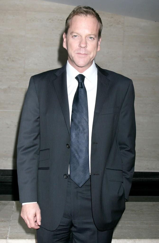 Kiefer Sutherland at 24 Redemption Photo Exhibit 4