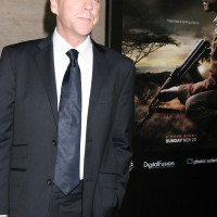 Kiefer Sutherland at 24 Redemption Photo Exhibit 5